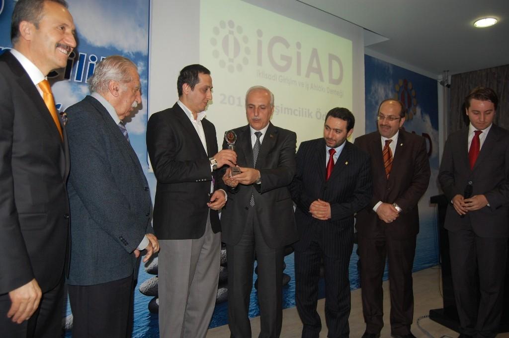 İGİAD 2012 Girişimcilik Ödülü Sahibini Buldu!