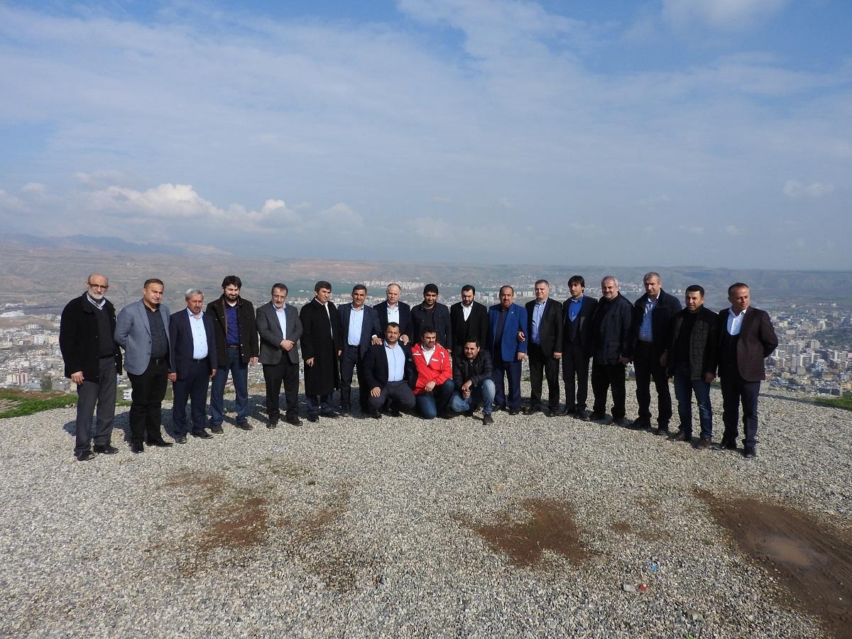 İGİAD'lı iş adamları gönül köprülerinin kurulması için Şırnak ve Cizre'deydi