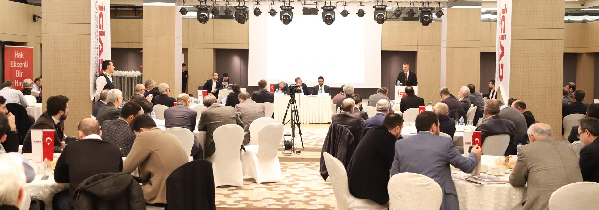İGİAD 8. Olağan Genel Kurul Toplantısı Yapıldı