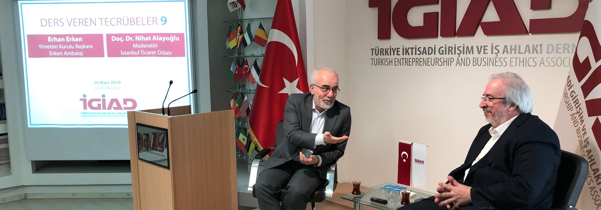 Ders Veren Tecrübelerde Erhan Erken'i Dinledik