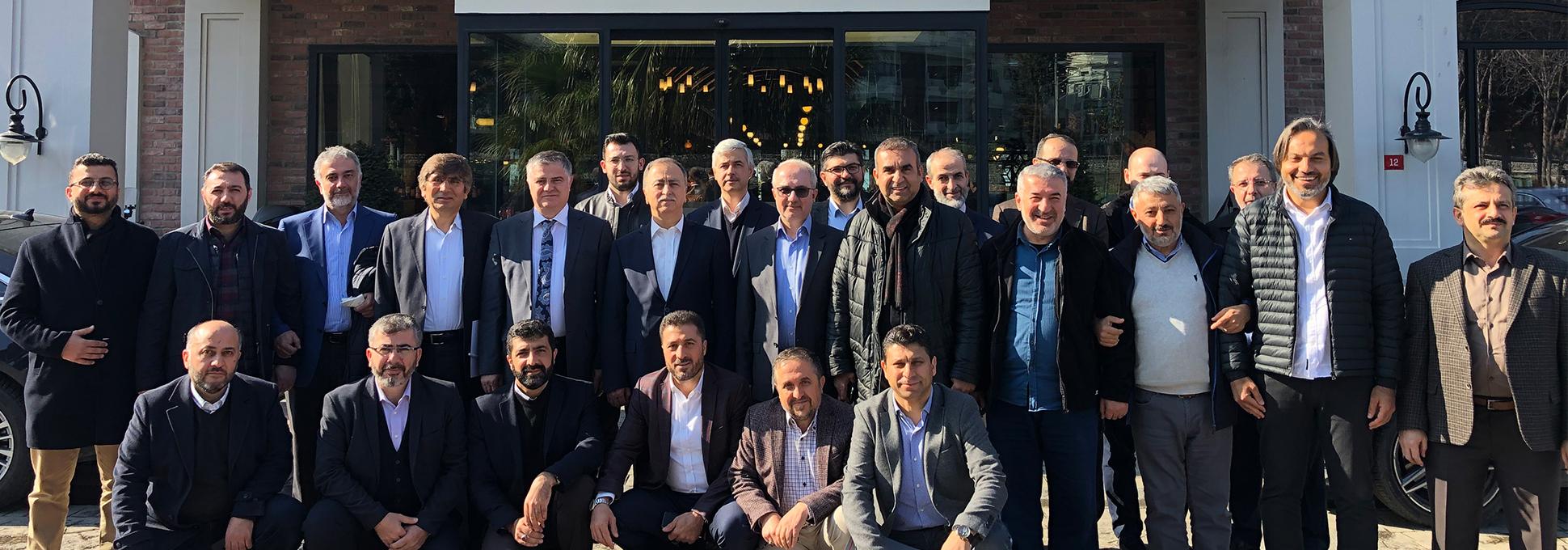 Genel İdare Kurulu Üyeleri Kahvaltılı Toplantıda Bir Araya Geldi