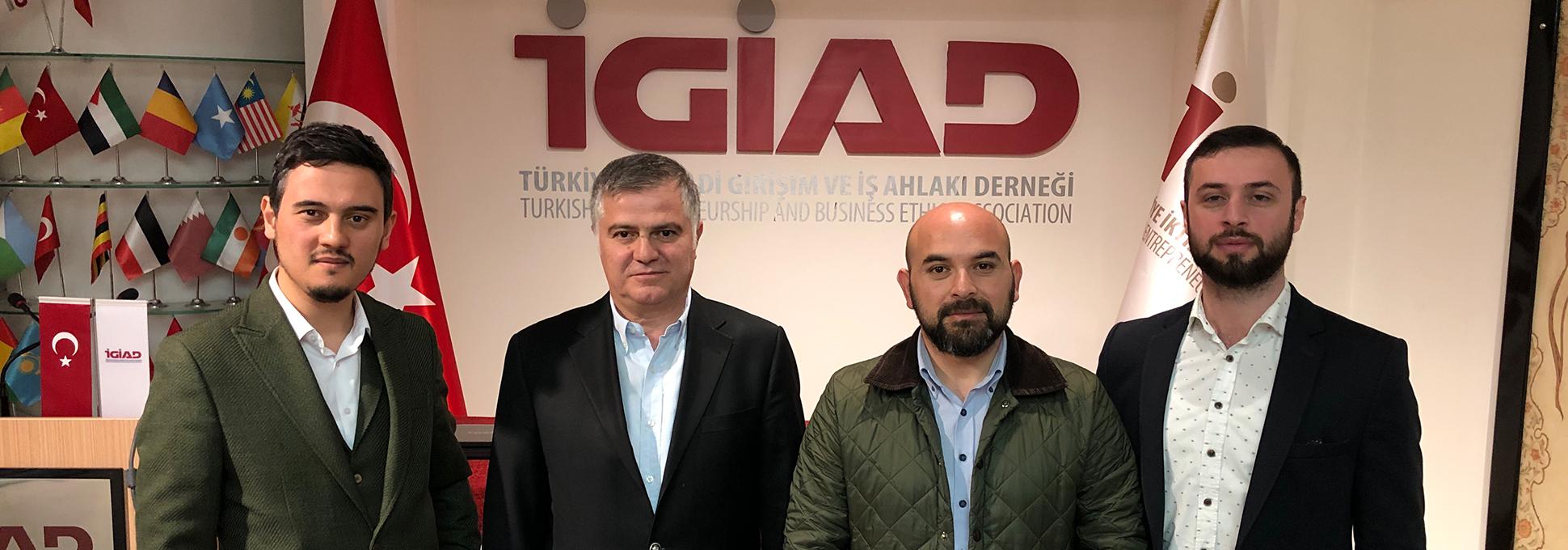 İstanbul Ağaç ve Peyzaj A.Ş. Eğitim ve Kariyer Planlama Ekibi Derneğimizi Ziyaret Etti