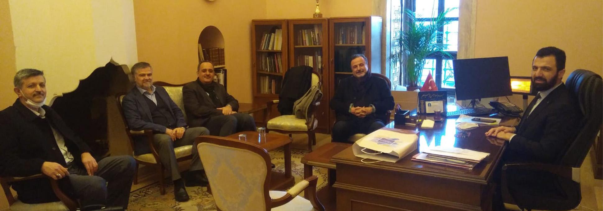 İstanbul Müftü Yardımcısı Selahattin Yılmaz'ı Ziyaret Ettik