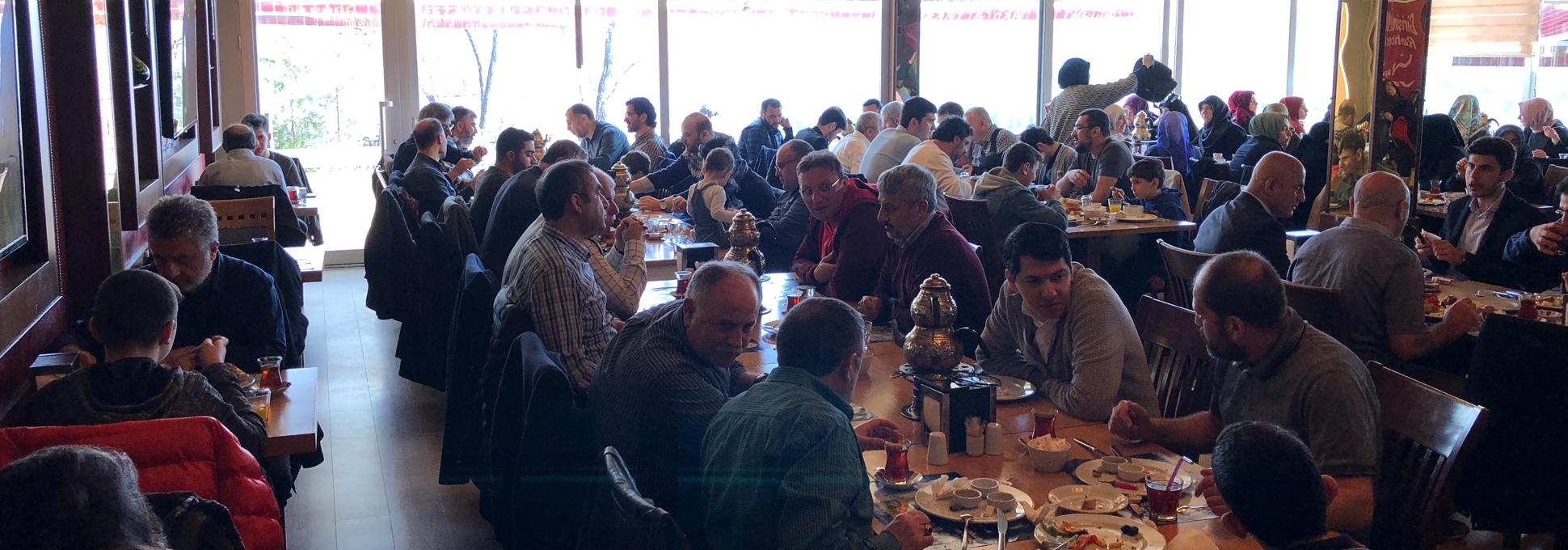 Üyelerimiz Aileleriyle Birlikte Kahvaltıda Buluştu