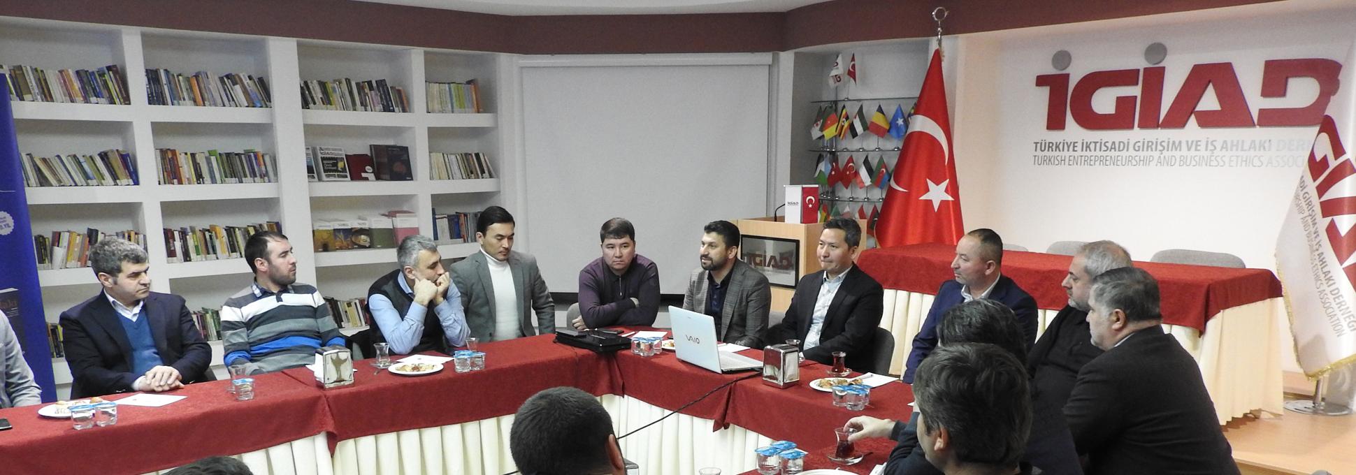 Ülke Tanıtım Toplantısında Gündem Kazakistan
