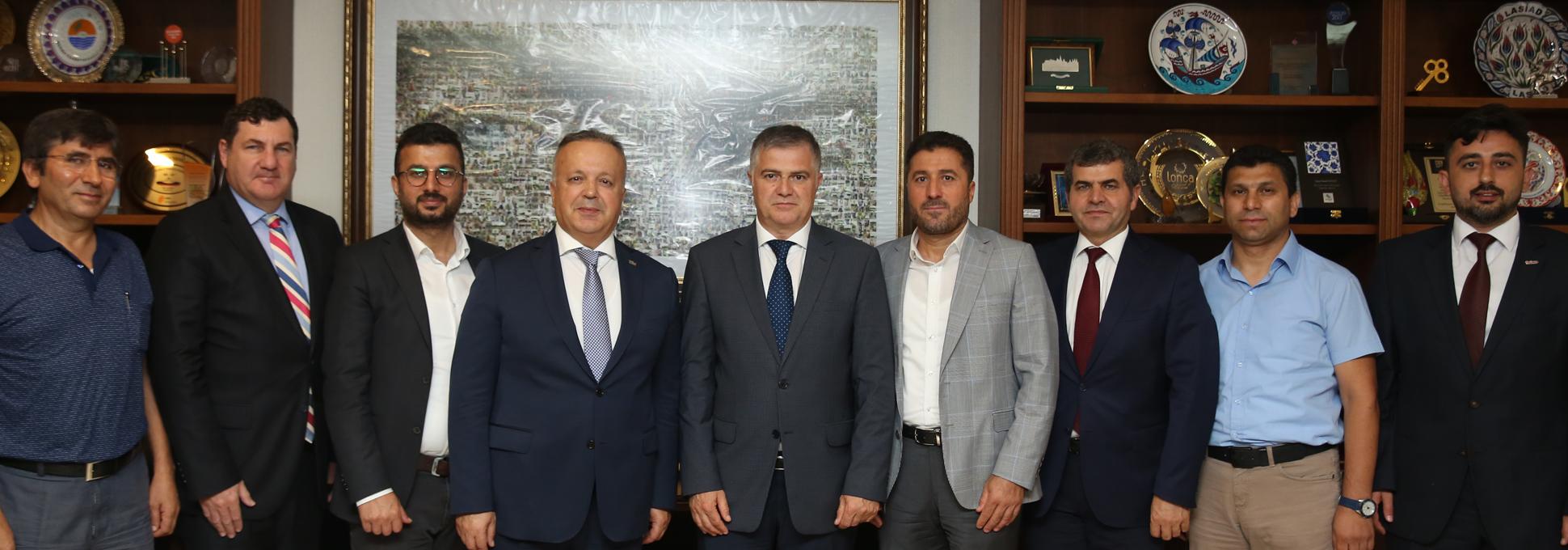 TİM-Türkiye İhracatçılar Meclisi Başkanı İsmail Gülle'yi ziyaret ettik