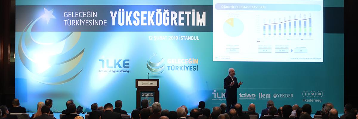 Geleceğin Türkiyesinde Yükseköğretim Raporu Açıklandı